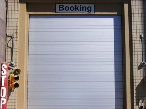 Clark County Jail Las Vegas Nevada - Booking Door