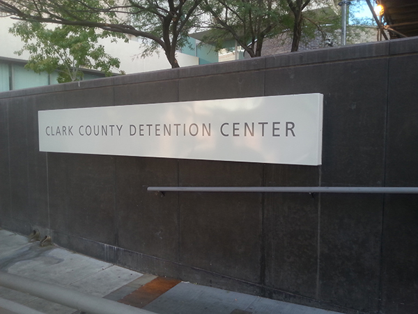 Clark County Detention Center Las Vegas Nevada